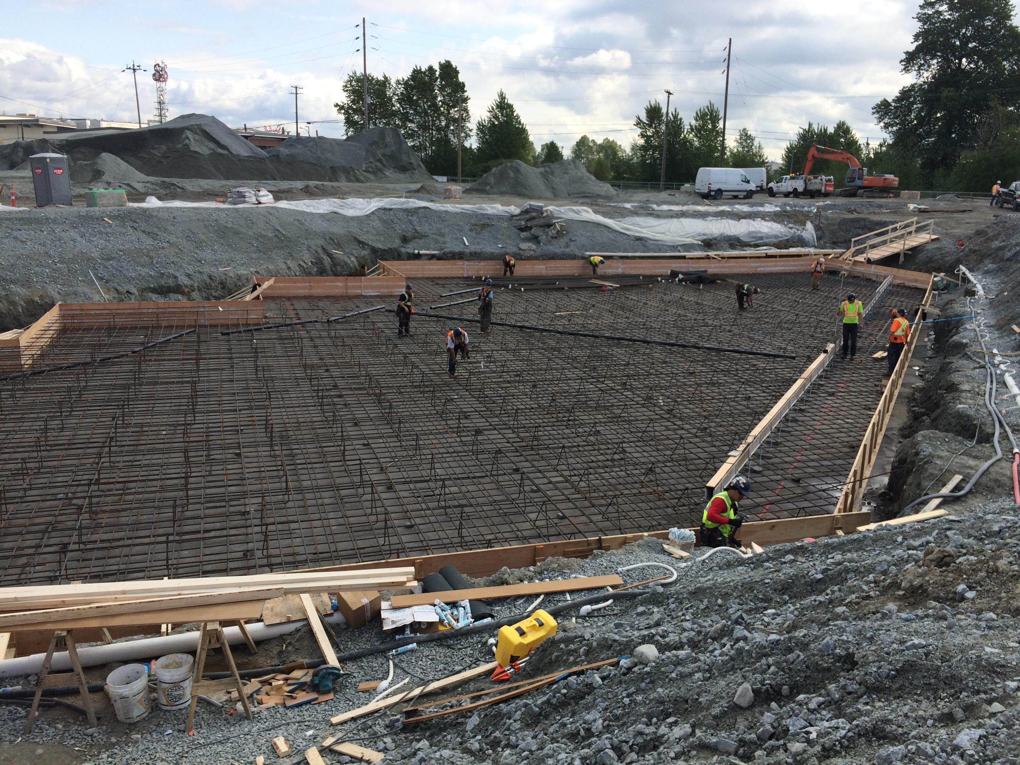 Hamilton transit centre richmond bc forma construction for Basement builder